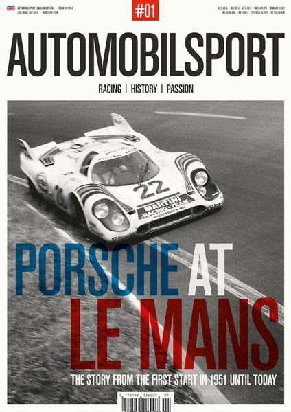 AUTOMOBILSPORT Magazine - Issue #01 - Cover