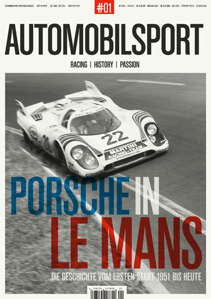 AUTOMOBILSPORT Magazin - Ausgabe #01 - Cover