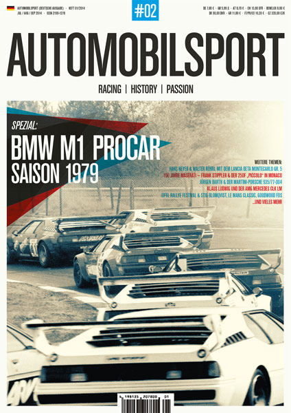 AUTOMOBILSPORT Magazin - Ausgabe #02 - Cover