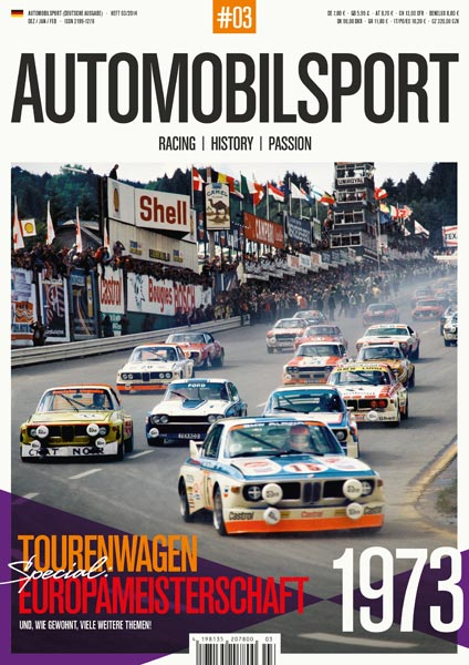 AUTOMOBILSPORT Magazin - Ausgabe #03 - Cover