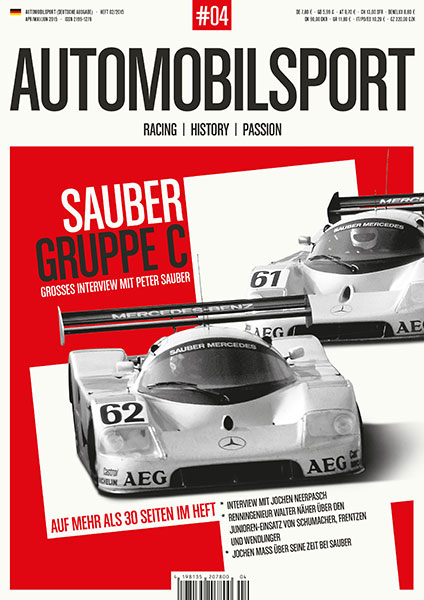 AUTOMOBILSPORT Magazin - Ausgabe #04 - Cover