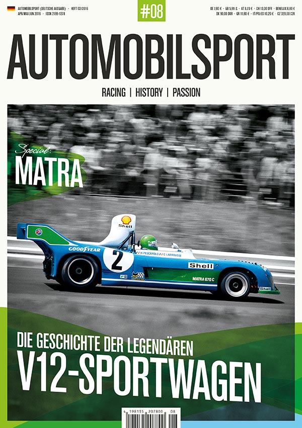 AUTOMOBILSPORT Magazin - Ausgabe #08 - Cover
