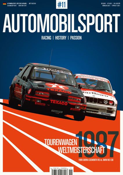 AUTOMOBILSPORT Magazin - Ausgabe #09 - Cover