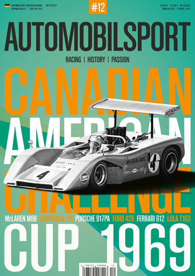 AUTOMOBILSPORT Magazin - Ausgabe #12 - Cover