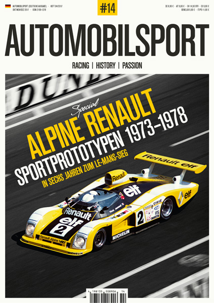 AUTOMOBILSPORT Magazin - Ausgabe #14 - Cover