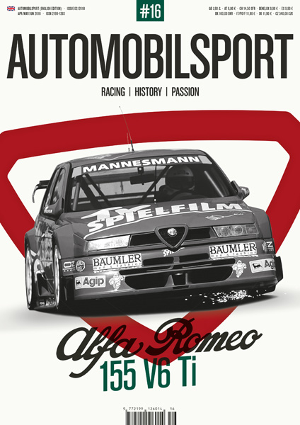 AUTOMOBILSPORT Magazin - Ausgabe #16 - Cover