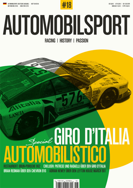 AUTOMOBILSPORT Magazin - Ausgabe #17 - Cover
