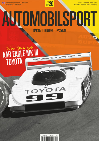AUTOMOBILSPORT Magazin - Ausgabe #20 - Cover