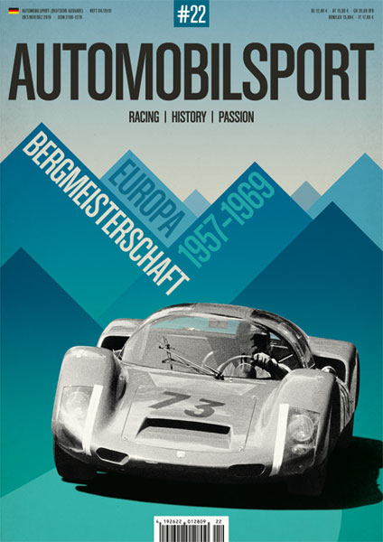 AUTOMOBILSPORT Magazin - Ausgabe #22 - Cover