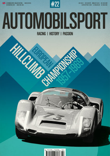 AUTOMOBILSPORT Magazine - Issue #22 - Cover