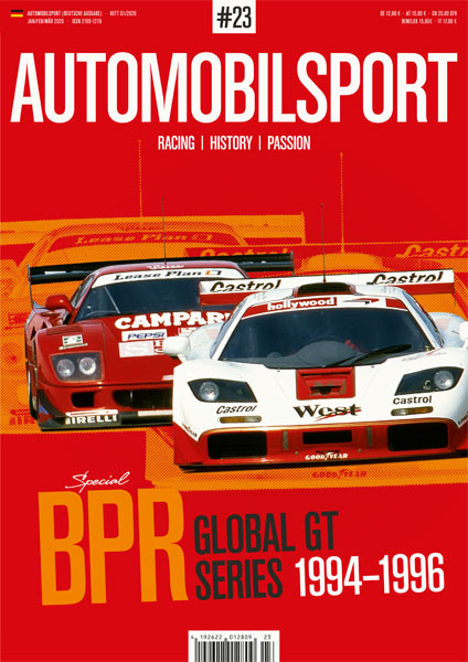 AUTOMOBILSPORT Magazin - Ausgabe #23 - Cover