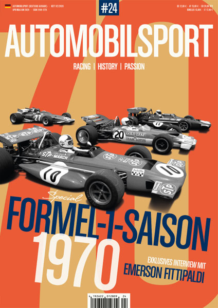 AUTOMOBILSPORT Magazin - Ausgabe #24 - Cover