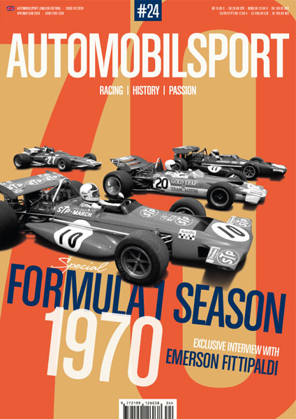 AUTOMOBILSPORT Magazine - Issue #24 - Cover