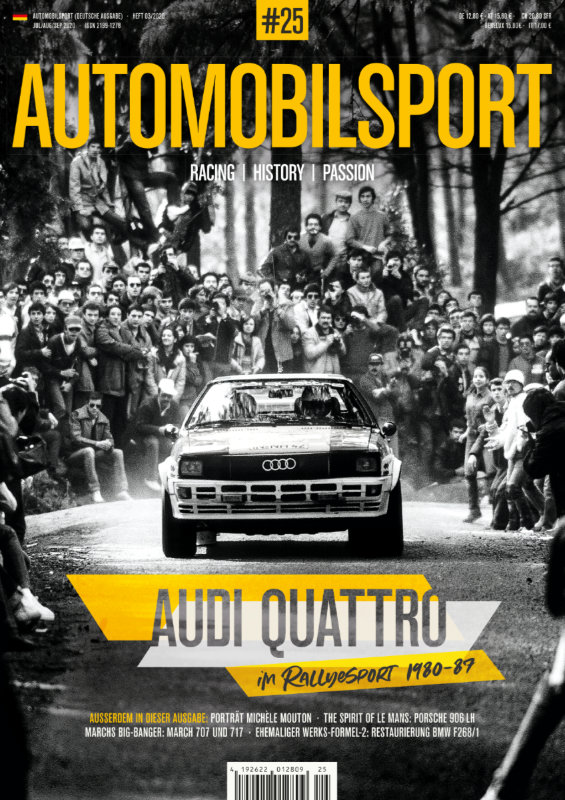 AUTOMOBILSPORT Magazin - Ausgabe #25 - Cover