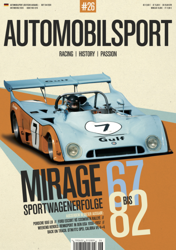 AUTOMOBILSPORT Magazin - Ausgabe #26 - Cover