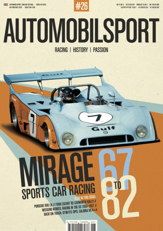 AUTOMOBILSPORT Magazine - Issue #26 - Cover
