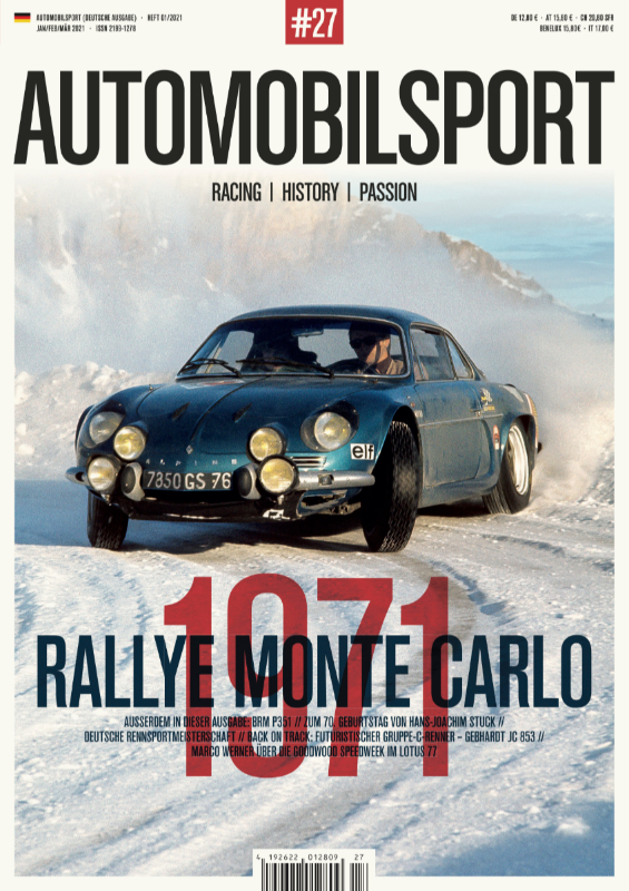 AUTOMOBILSPORT Magazin - Ausgabe #27 - Cover
